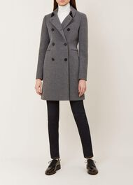Kester Coat, Charcoal Grey, hi-res