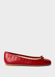 Prior Crocodile Ballerinas, Red, hi-res