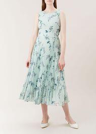 Celeste Dress, Mint Multi, hi-res
