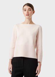 Logan Sweater, Pale Pink, hi-res