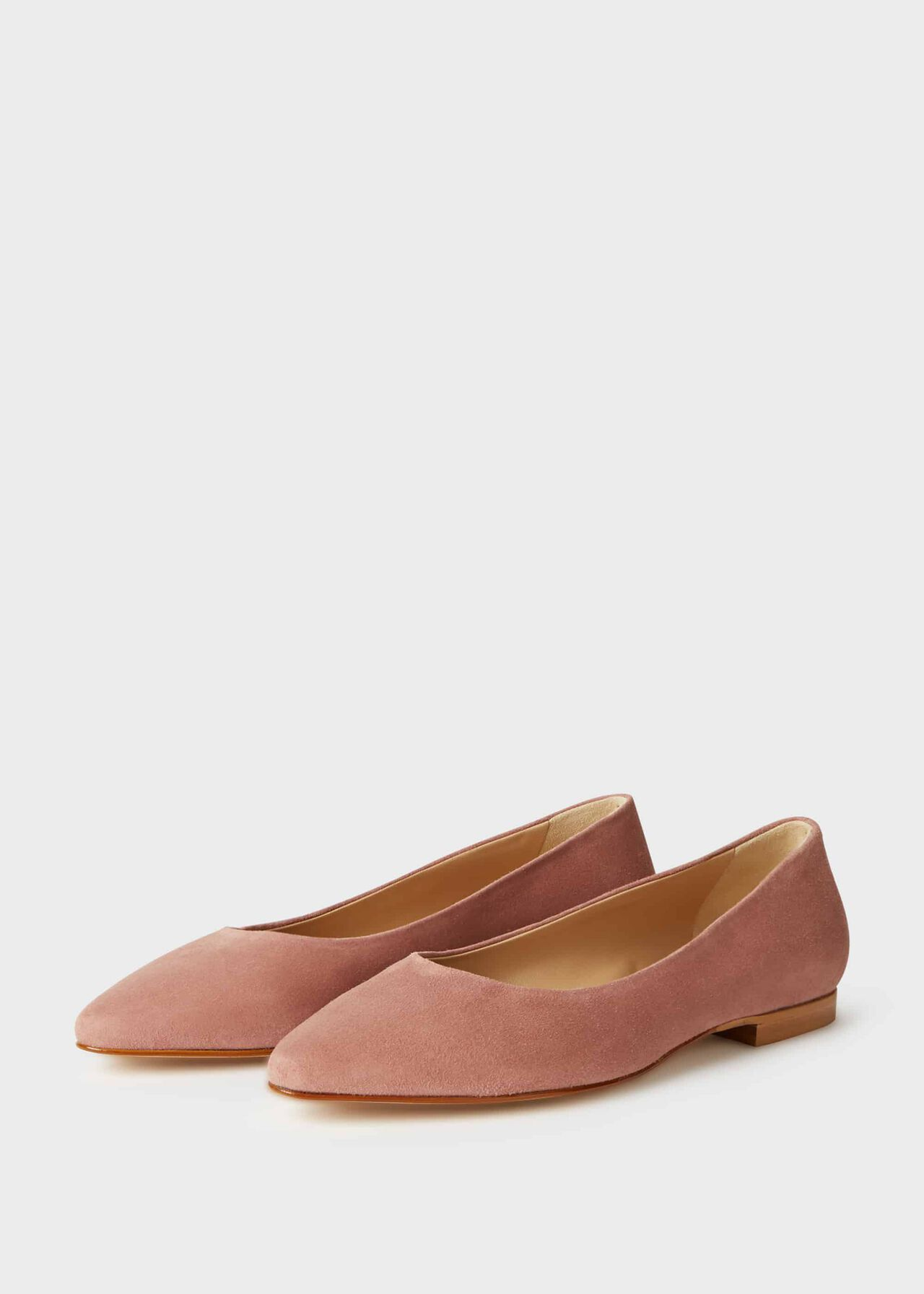 Serena Flat Dusky Pink