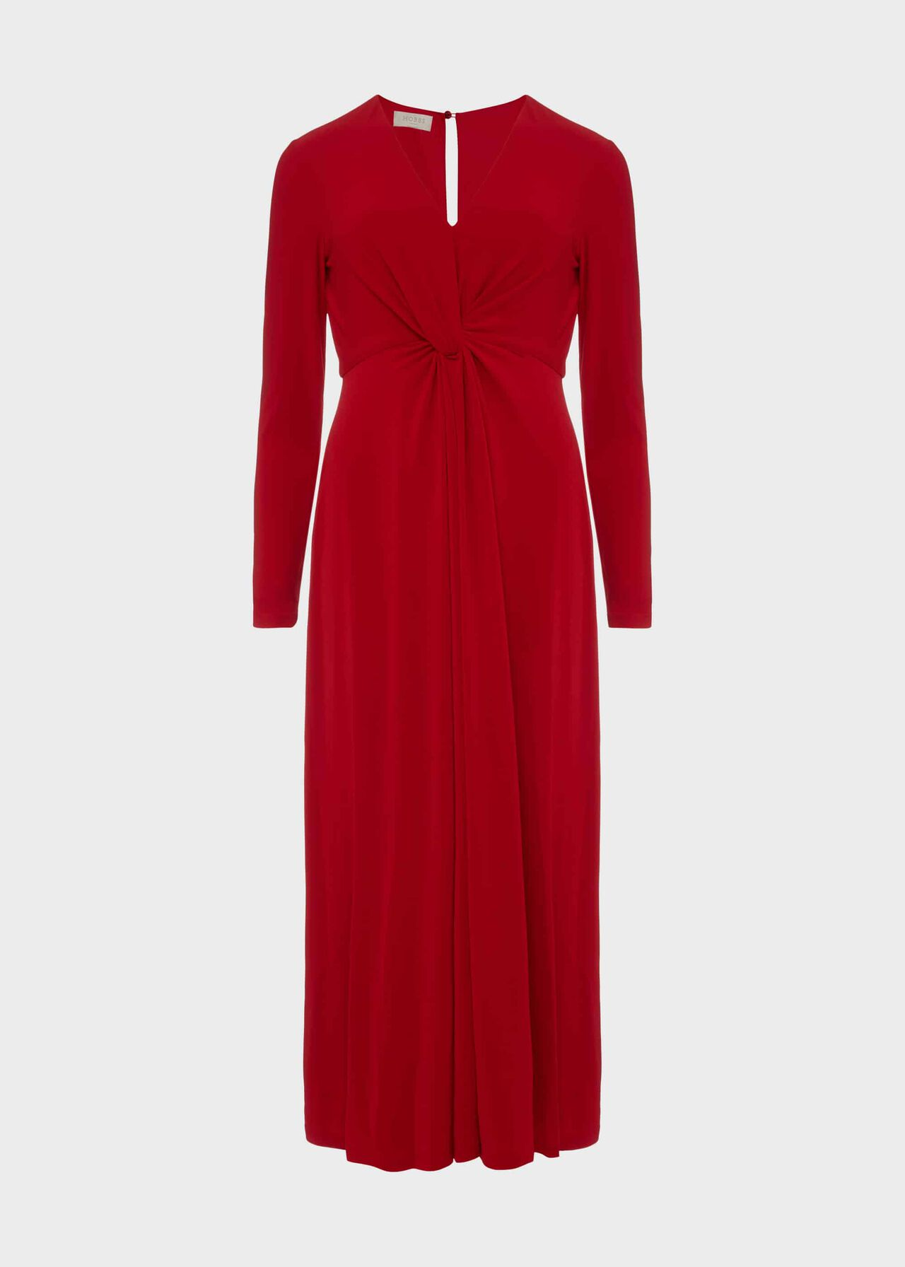 Uma Jersey Dress Poppy Red
