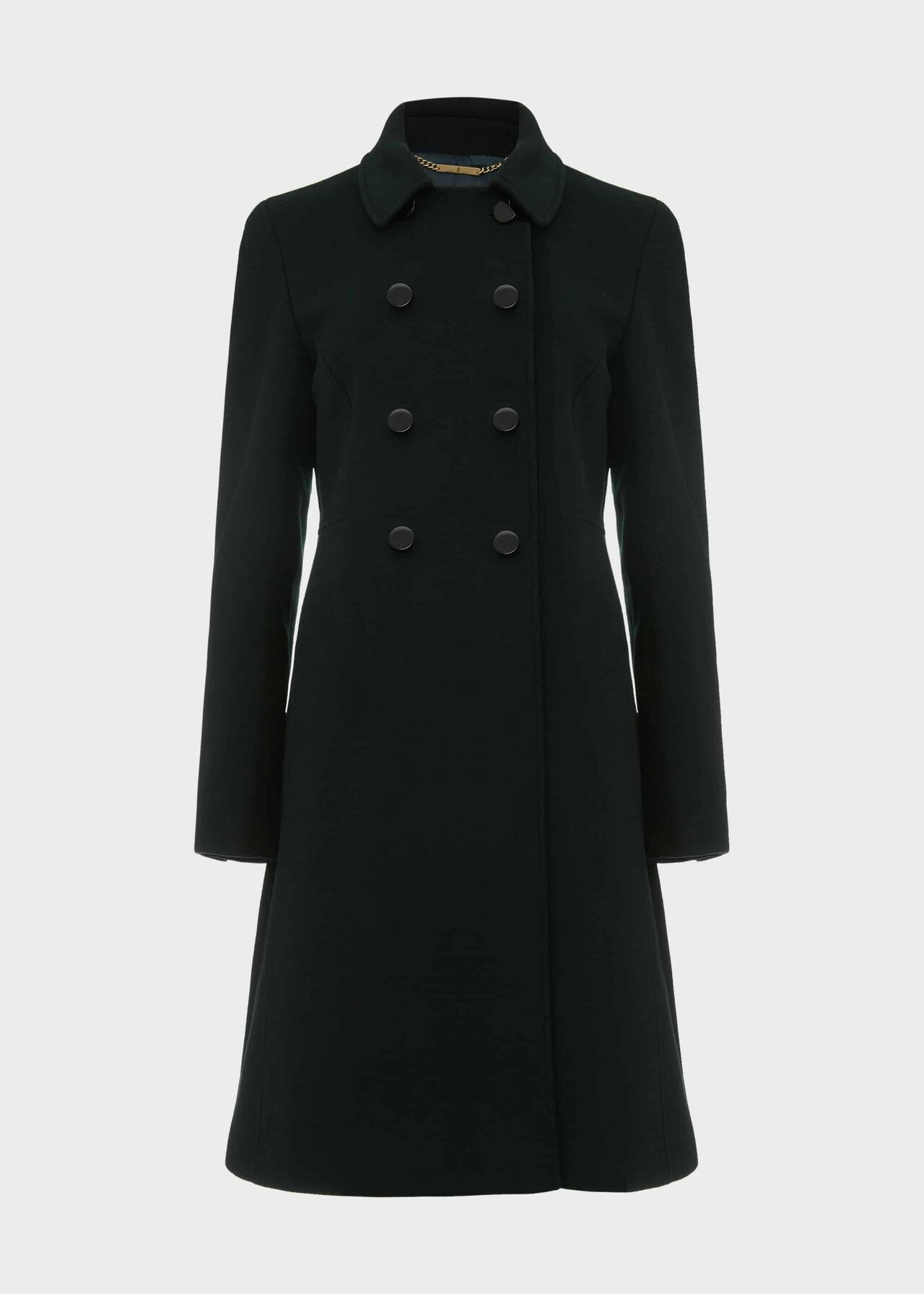 Petite Sylvia Wool Blend Coat Fern Green