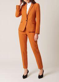 Odella Jacket, Pumpkin Orange, hi-res