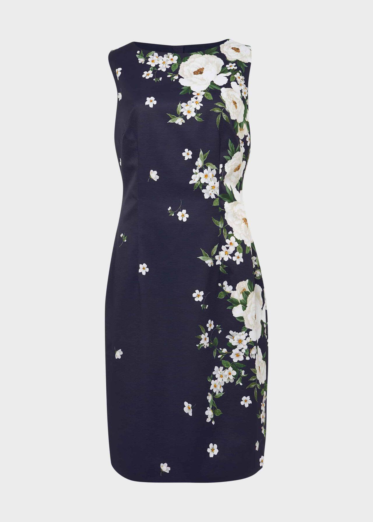 Moira Floral Dress Navy Multi