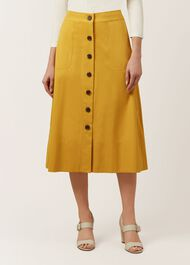 Celina Skirt, Golden Yellow, hi-res