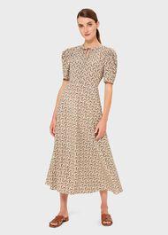 Charlie Dress, Ivory Multi, hi-res