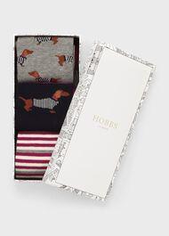 Dachshund Sock Set, Grey Violet, hi-res