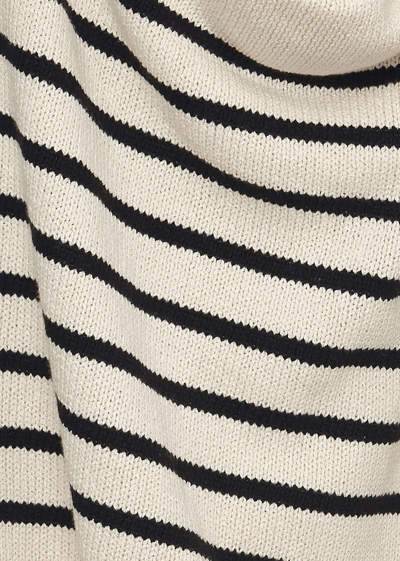 Everly Striped Jumper, Stone Black, hi-res
