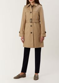 Lena Trench Coat, Neutral, hi-res