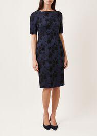 Rondel Dress, Navy, hi-res