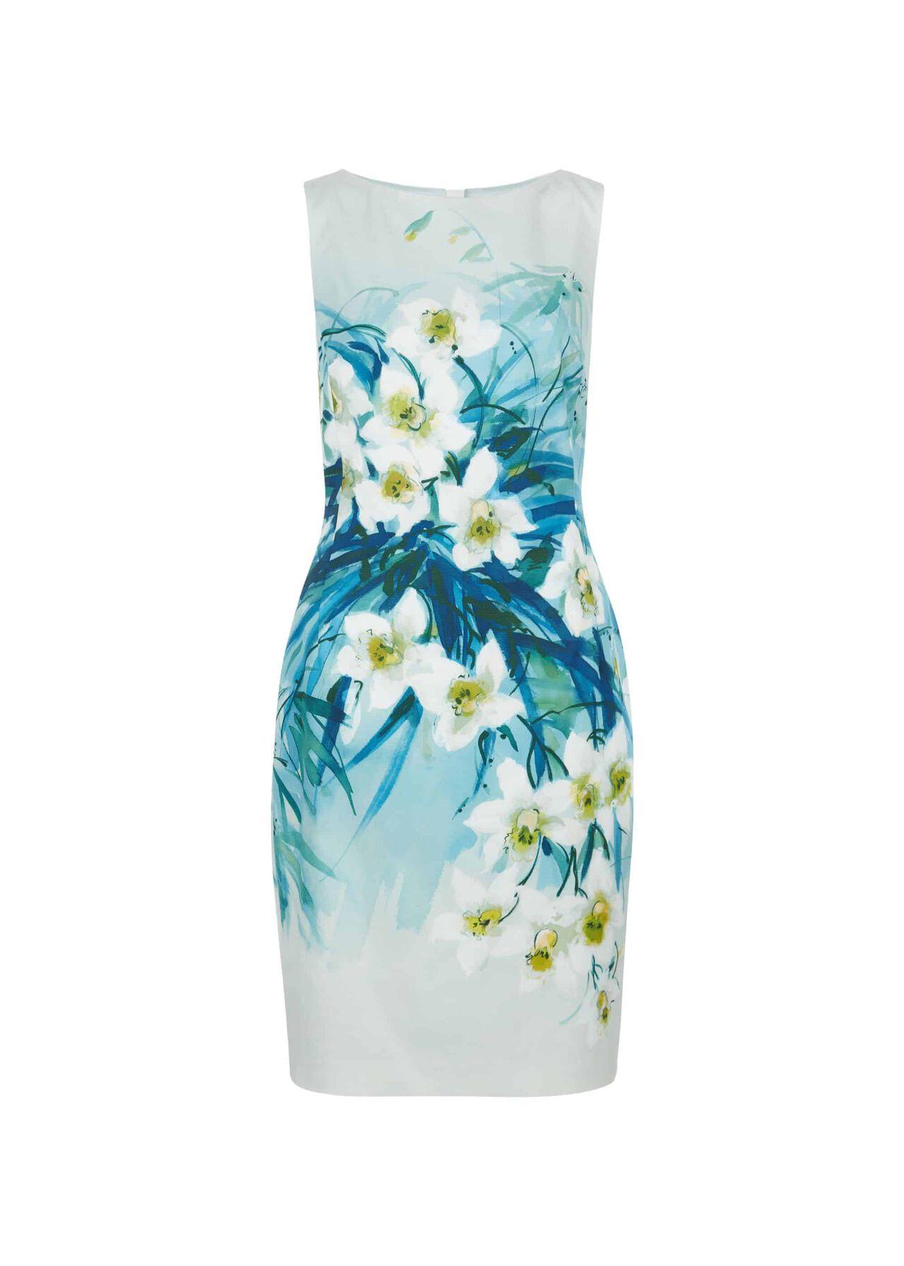 Amelie Dress Blue Multi