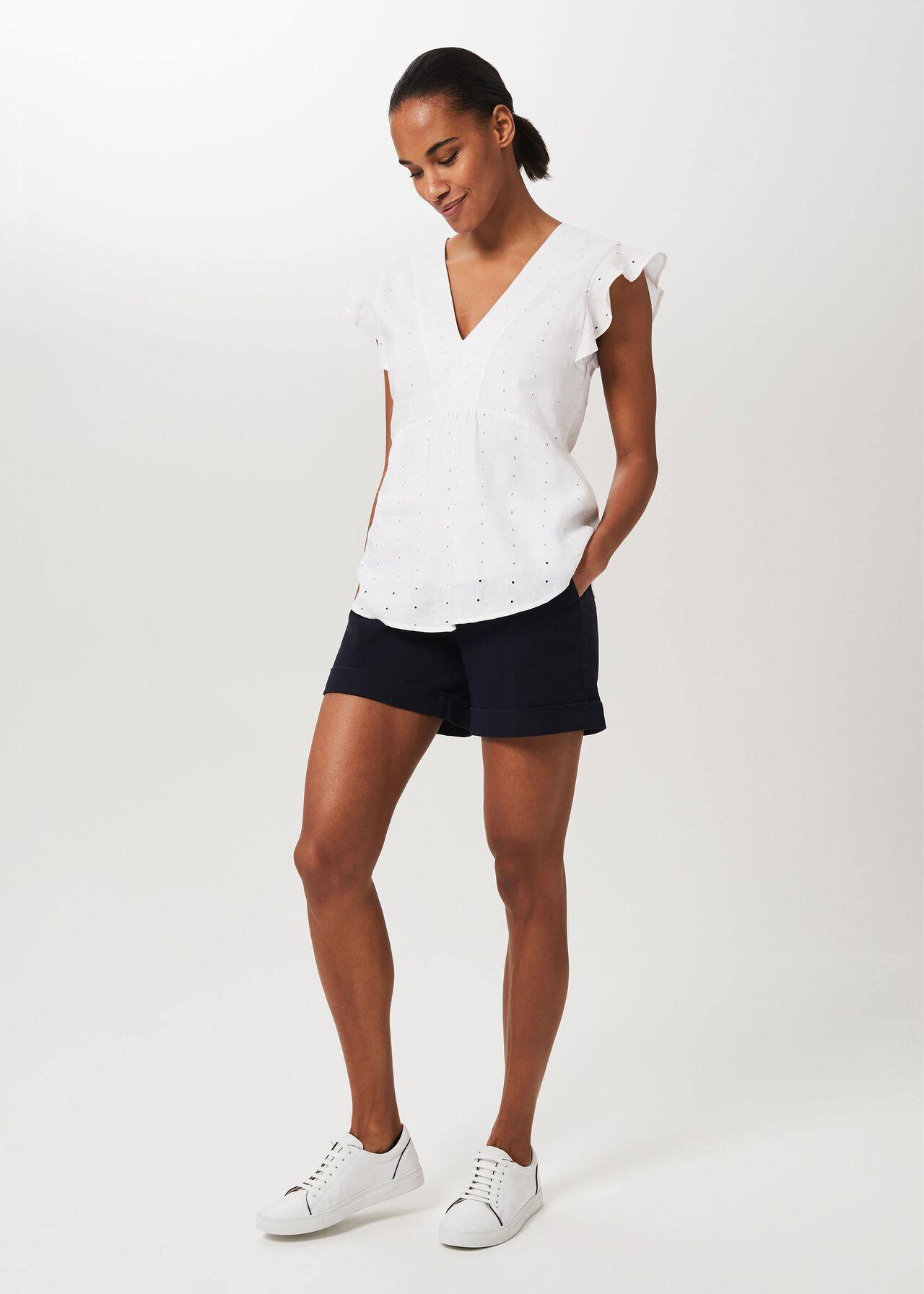 Chessie Shorts, Navy, hi-res