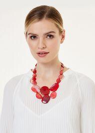 Leoniee Necklace, Scarlet Agate, hi-res