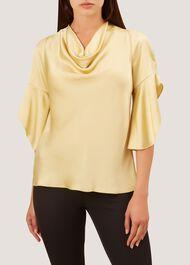 Eliza Blouse, Soft Yellow, hi-res