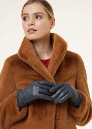 Emma Glove, Navy, hi-res