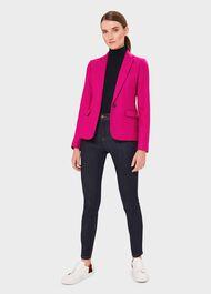 Blake Wool Jacket, Bright Pink, hi-res