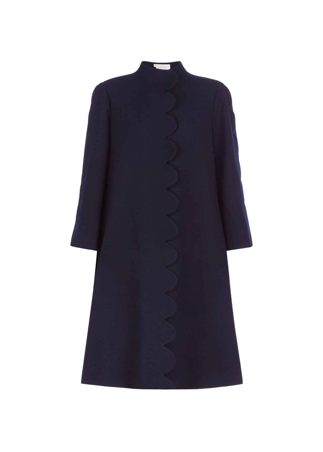 Diana Wool Coat Navy
