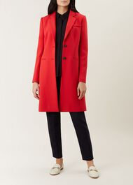 Spring Tilda Coat, Red, hi-res
