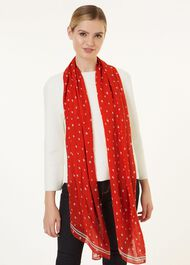 Amy Scarf, Red Ivory, hi-res