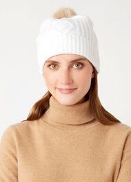 Eva Hat, Ivory, hi-res