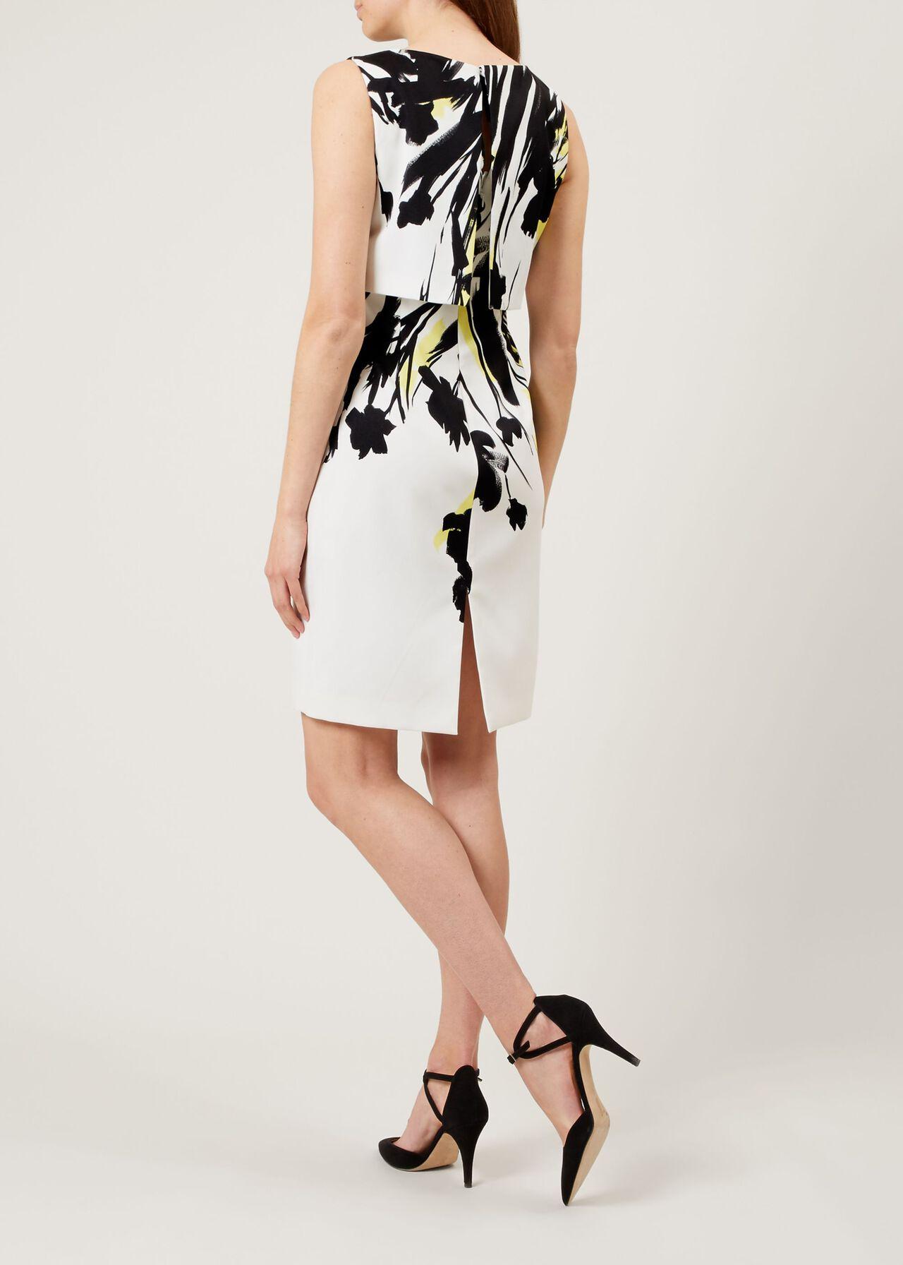 Bree Dress Ivory Multi