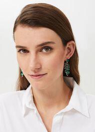 Eve Earring, Green, hi-res