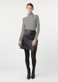 Stripe Mischa, Ivory Black, hi-res