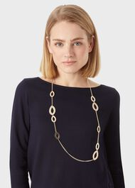 Thea Necklace, Gold, hi-res
