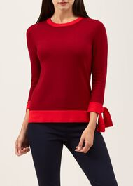 Kirby Sweater, Red, hi-res