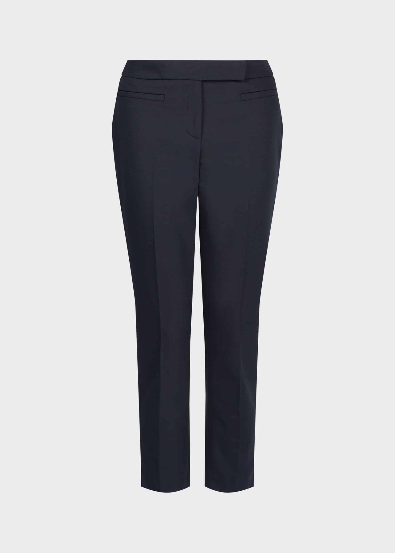 Petite Annie Slim trousers Navy