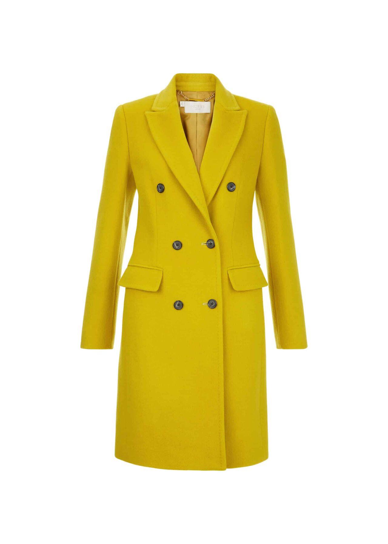 Bhavina Coat Yellow Ochre