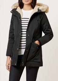 Florence Coat, Black, hi-res