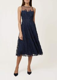 Felicity Dress, Navy Multi, hi-res