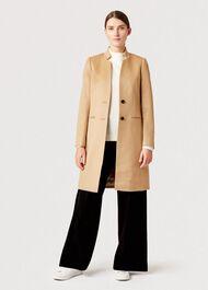 Tilda Wool Revere Coat, Camel, hi-res