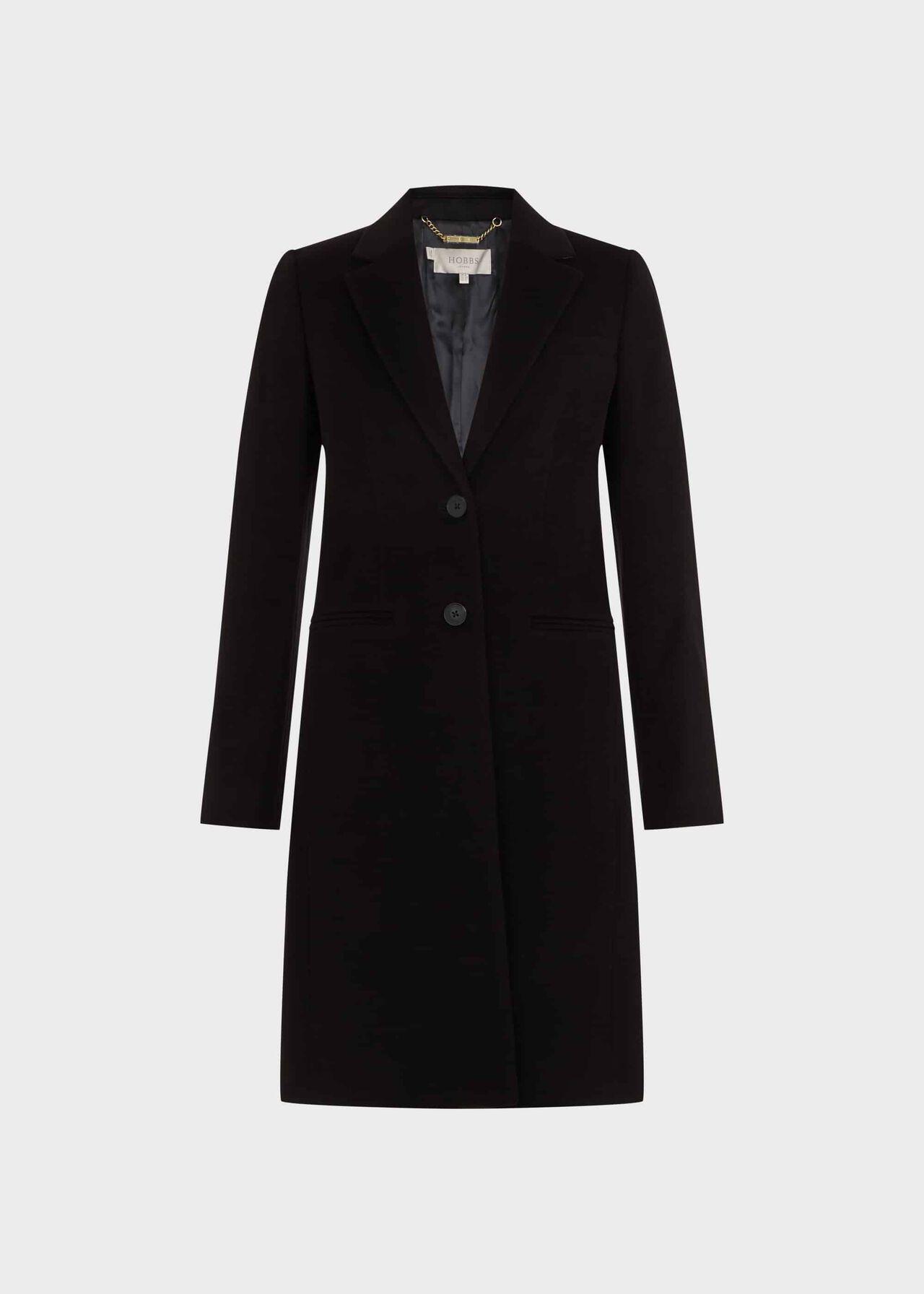 Tilda Wool Coat Black