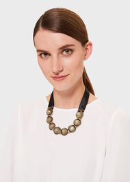 Zoey Collar Necklace, Gold, hi-res