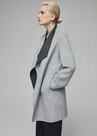 Gabriella Coat, Grey, hi-res