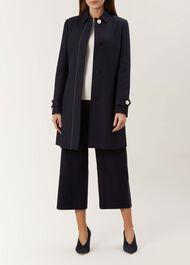 Corrina Coat, Navy, hi-res