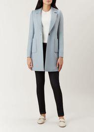 Camellia Coat, Pale Blue, hi-res