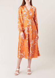 Ferrier Dress, Orange, hi-res
