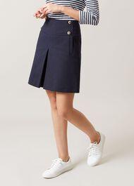 Joy Sailor Skirt, Navy, hi-res