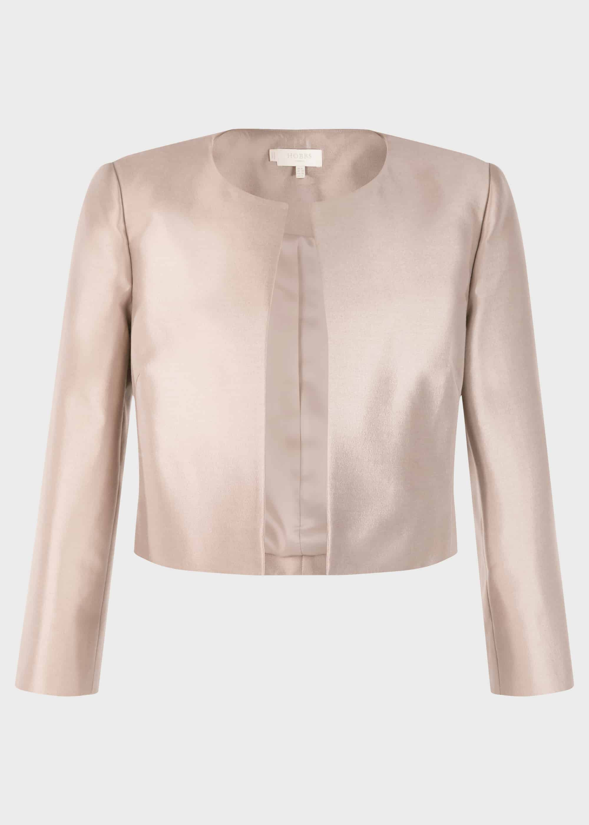 RRP £199. Hobbs Fran Oyster Jacket Various Sizes