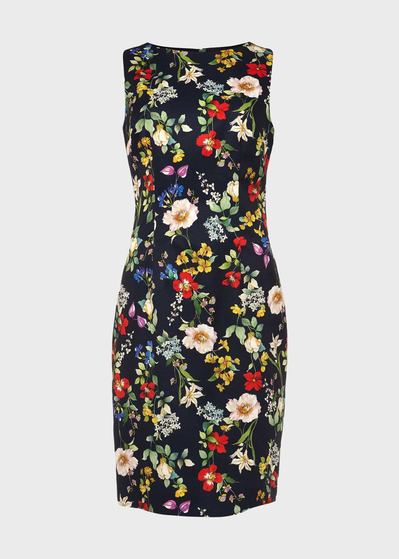 Moira Floral Shift Dress Midnight Multi
