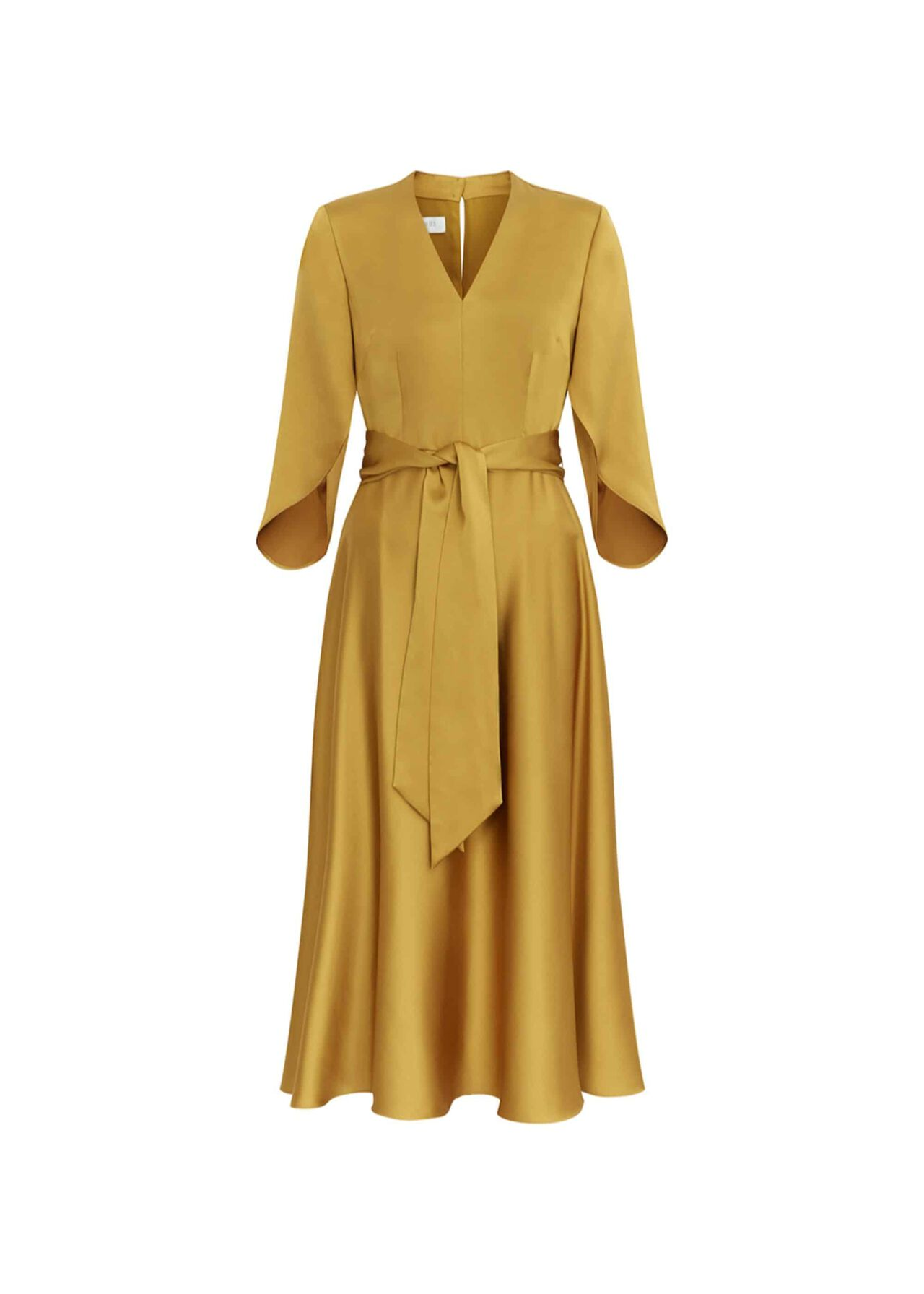 Rosa Midi Dress Ochre