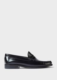 Bailey Leather  Loafers, Black, hi-res