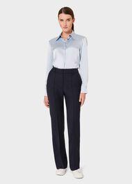 Silk Eva Shirt, Pale Blue, hi-res