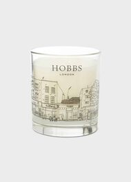 Hampstead Silent Night Candle, White, hi-res