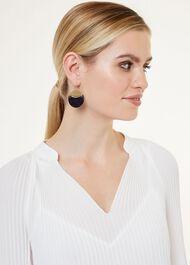 Shiloh Earring, Blue Sandstone, hi-res