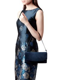 Sarah Clutch Bag, Navy, hi-res